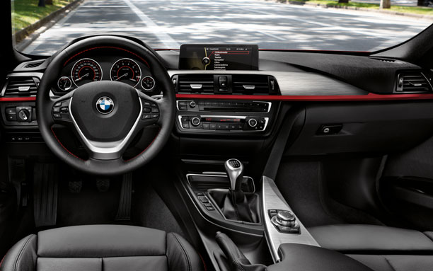 ภายใน รถ BMW Series 3