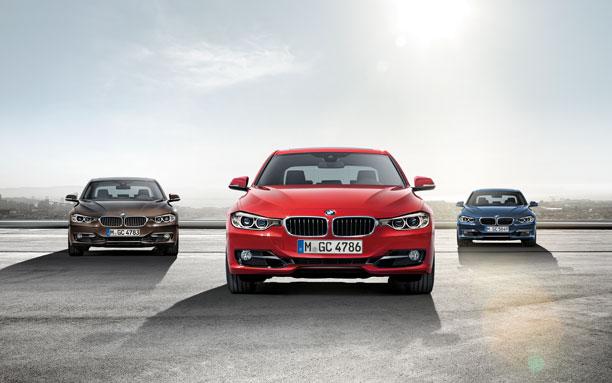 รถ BMW Series 3