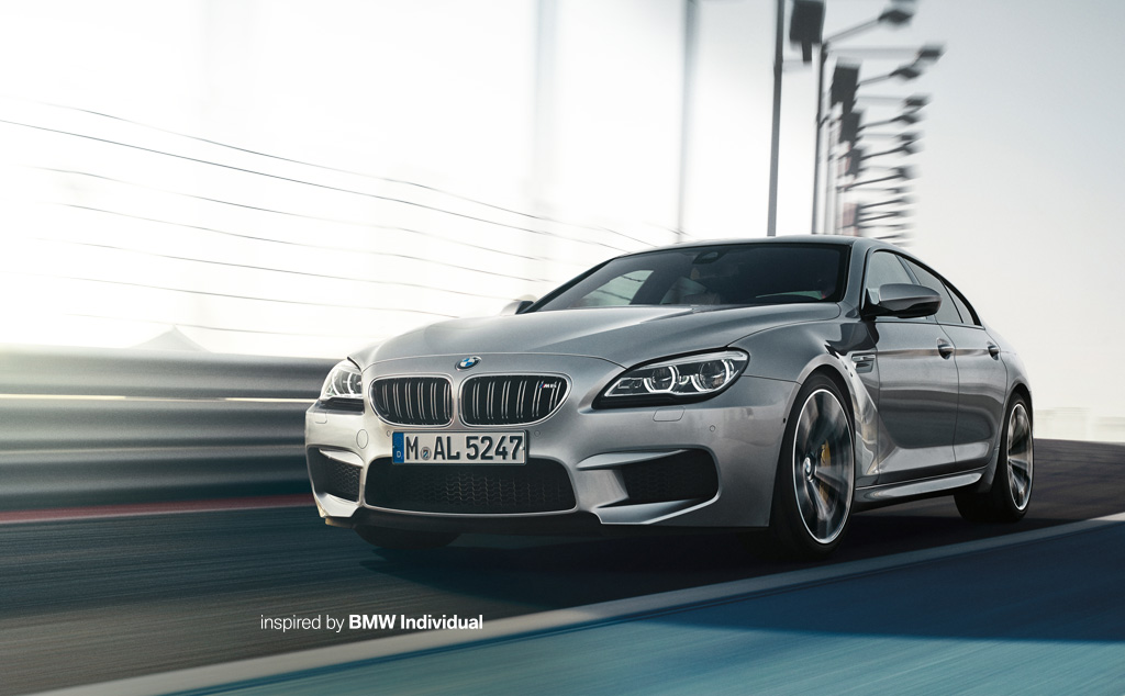 BMW M6 Gran Coupe บีเอ็มดับเบิลยู เอ็ม6 เเกรน คูเป้