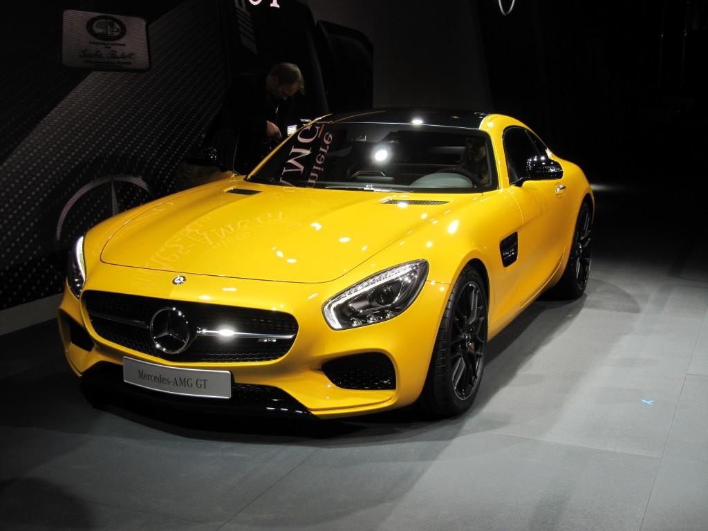 Mercedes-Benz AMG GT S-1