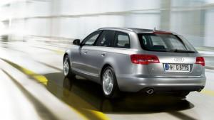 Audi A6 Avant-ด้านหลัง