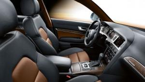 Audi A6 Saloon-ห้องโดยสารภายใน