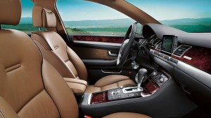 Audi A8-ห้องโดยสารภายใน