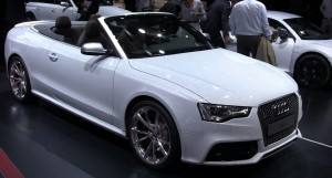 Audi RS5 Cabriolet-ด้านหน้า