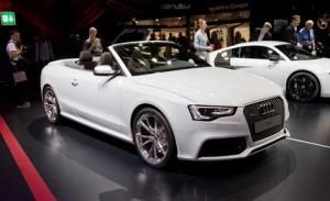 Audi RS5 Cabriolet-น่าเกรงขาม