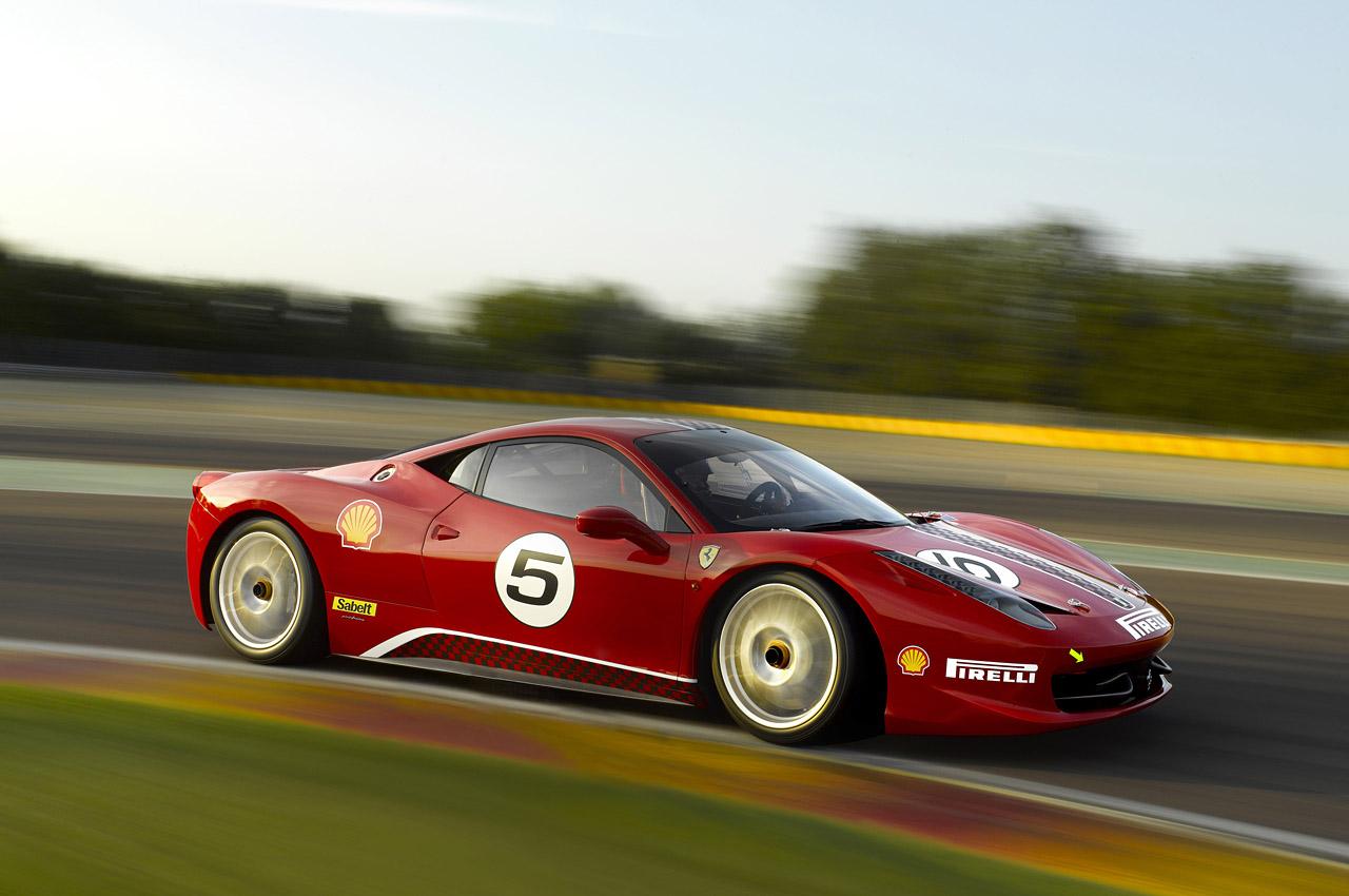 Ferrari 458 Challenge-รวดเร็ว