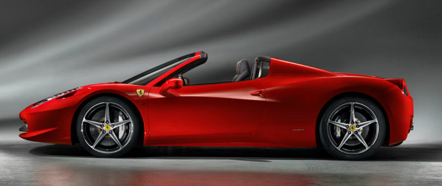 Ferrari 458 Spider-งดงาม