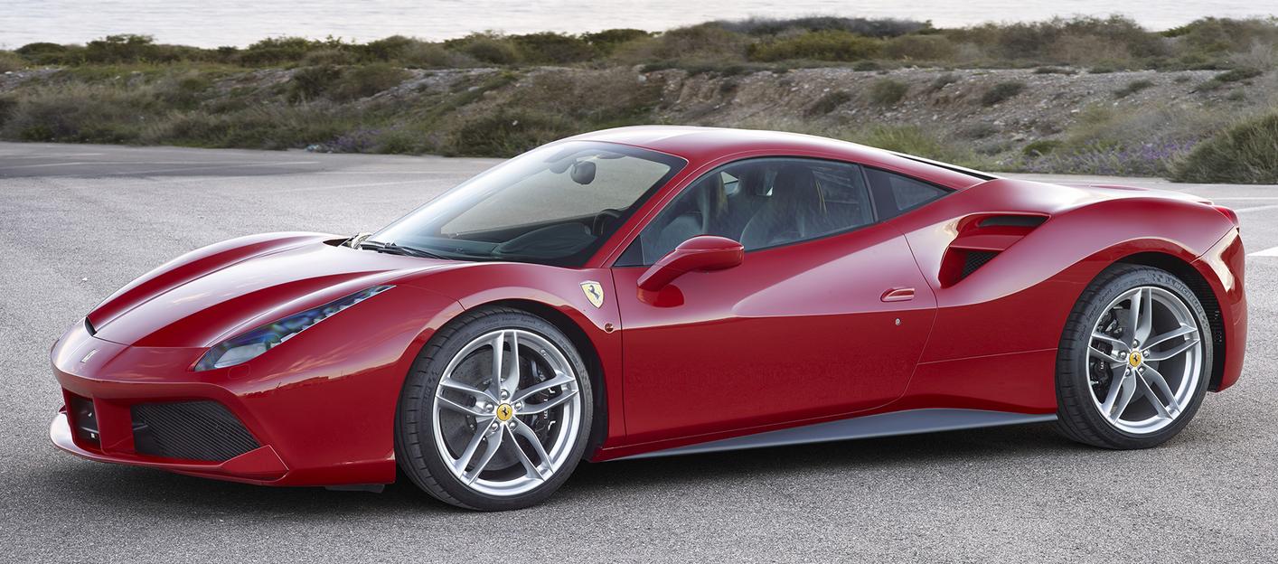 Ferrari 488 GTB-ร้อนเเรง