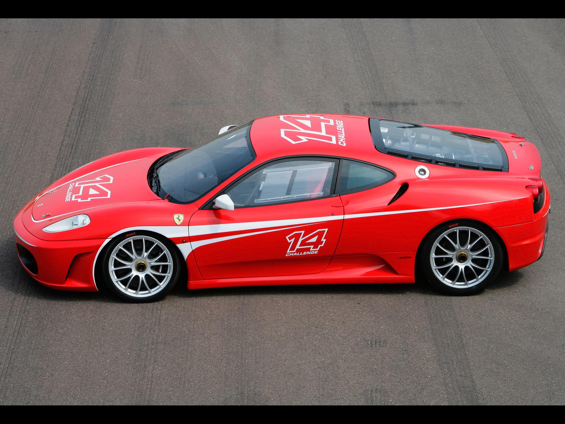 Ferrari F430 Challenge-มุมสูง