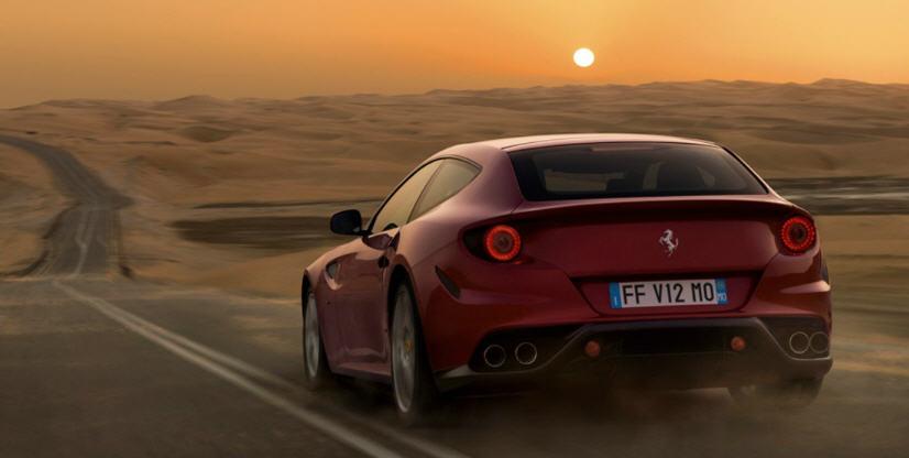 Ferrari FF-ด้านหลัง