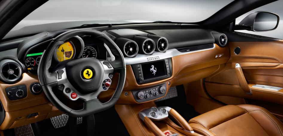 Ferrari FF-ภายใน
