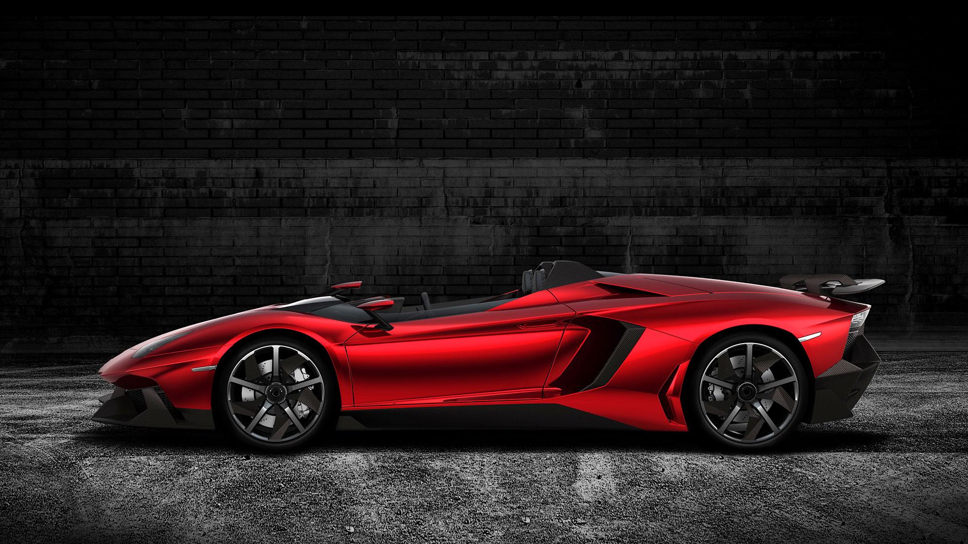 Lamborghini Aventador J-งดงาม