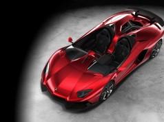 Lamborghini Aventador J-ด้านบน