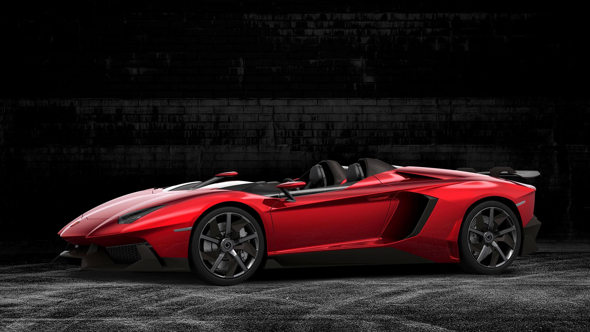 Lamborghini Aventador J-สวยงาม