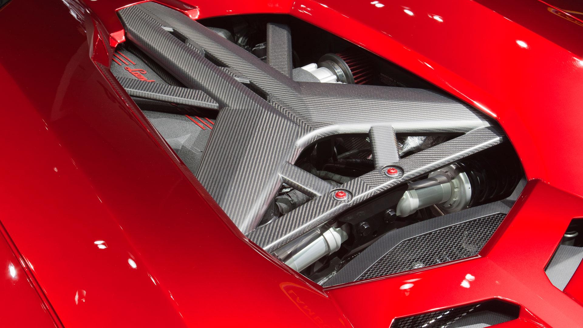Lamborghini Aventador J-เครื่องยนต์