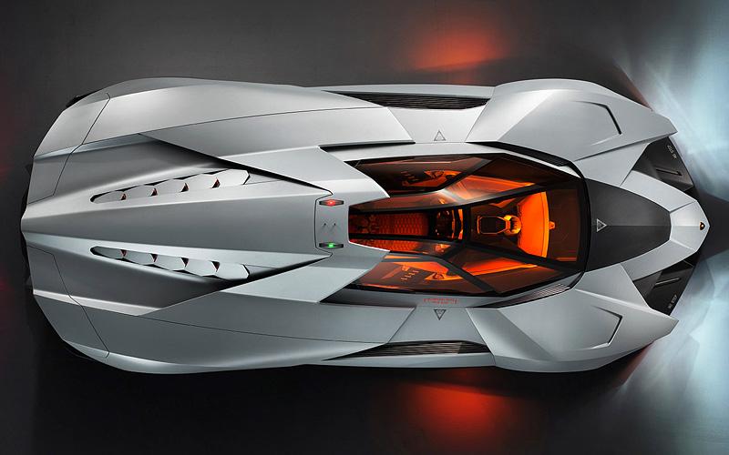 Lamborghini Egoista - ด้านบน