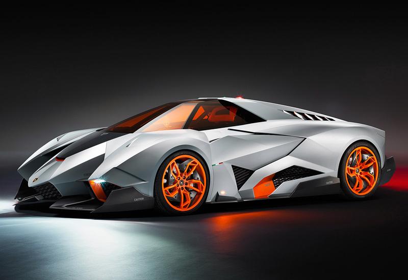 Lamborghini Egoista - สวยงาม