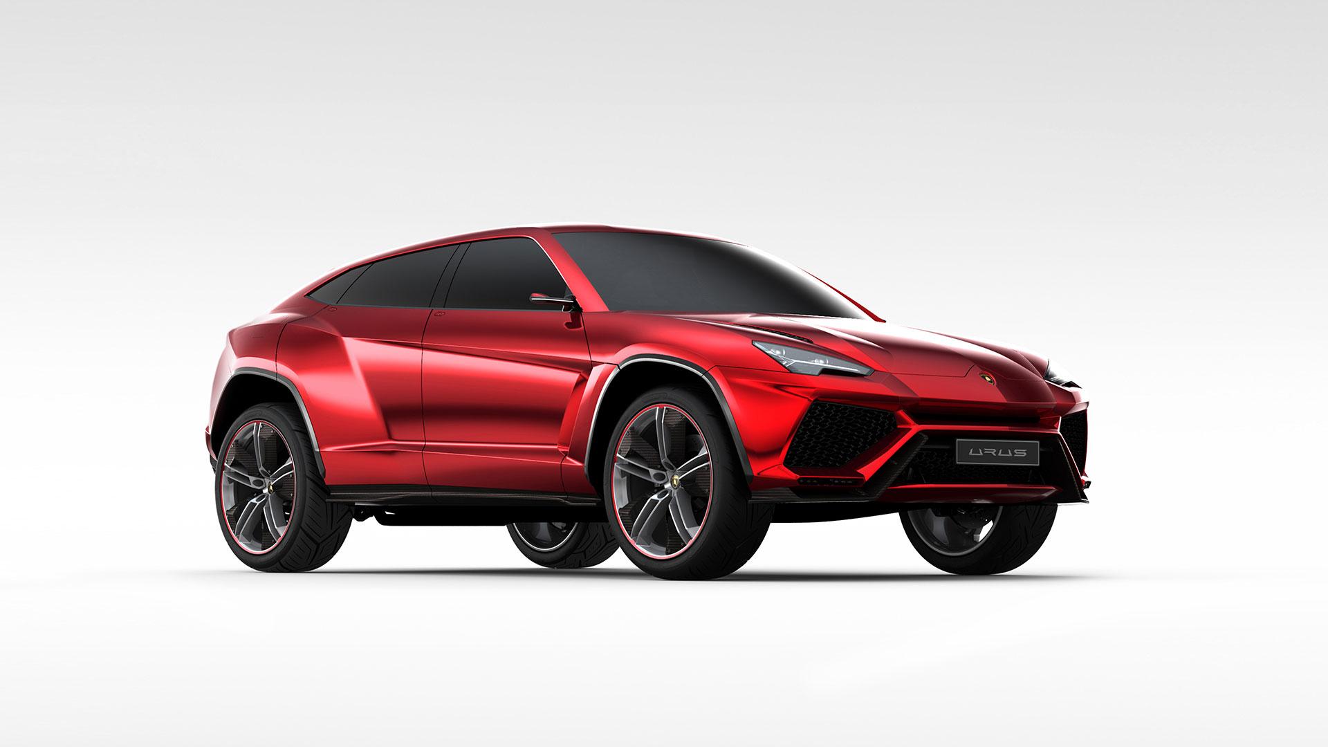 Lamborghini Urus-ด้านหน้า