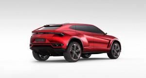 Lamborghini Urus-ด้านหลัง