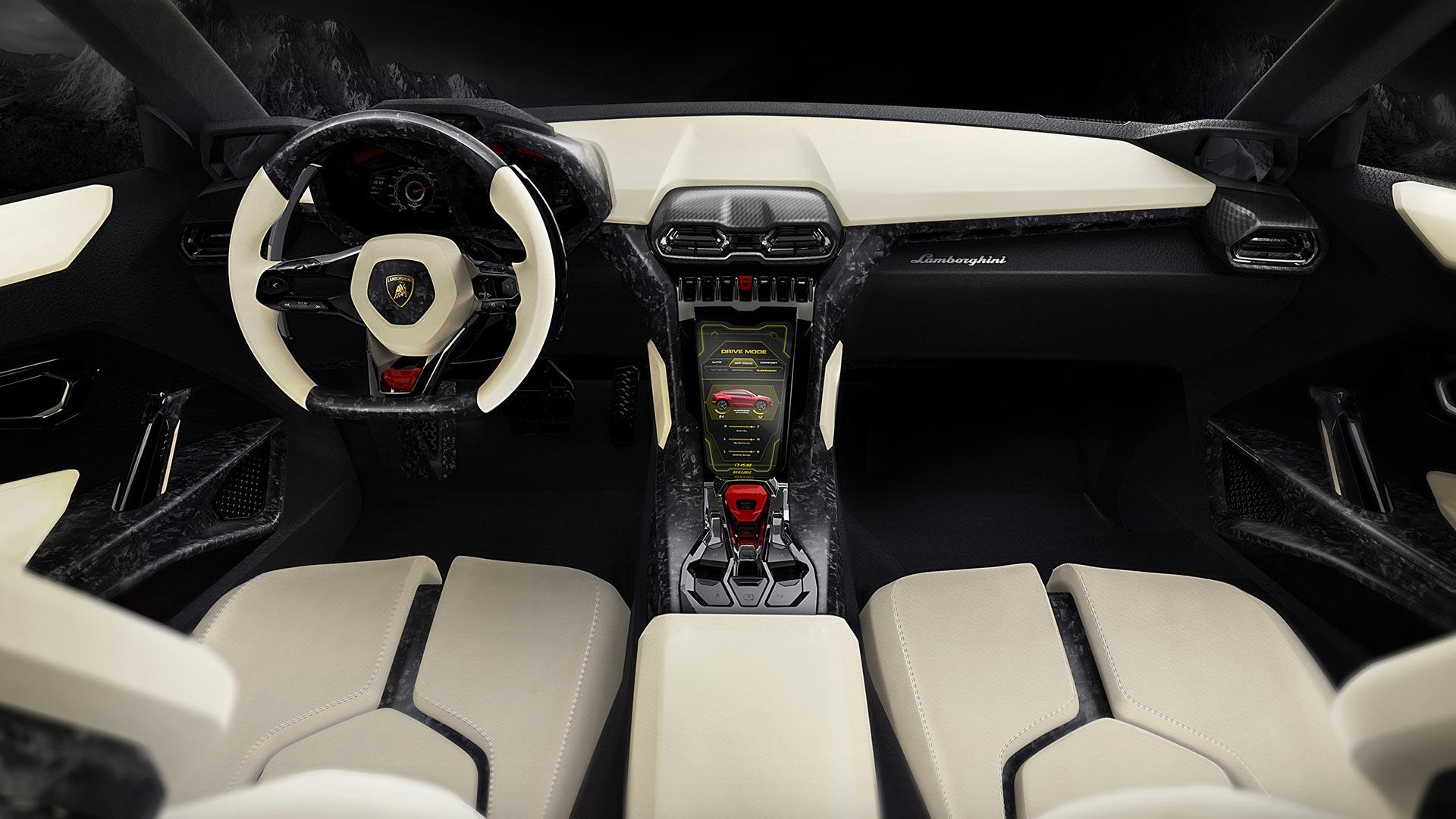 Lamborghini Urus-ห้องโดยสาร