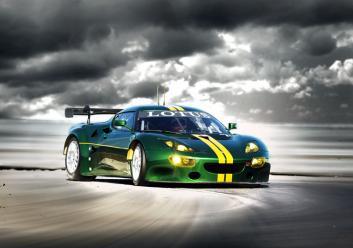 Lotus EVORA GTE-ด้านหน้า