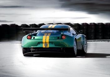 Lotus EVORA GTE-ด้านหลัง