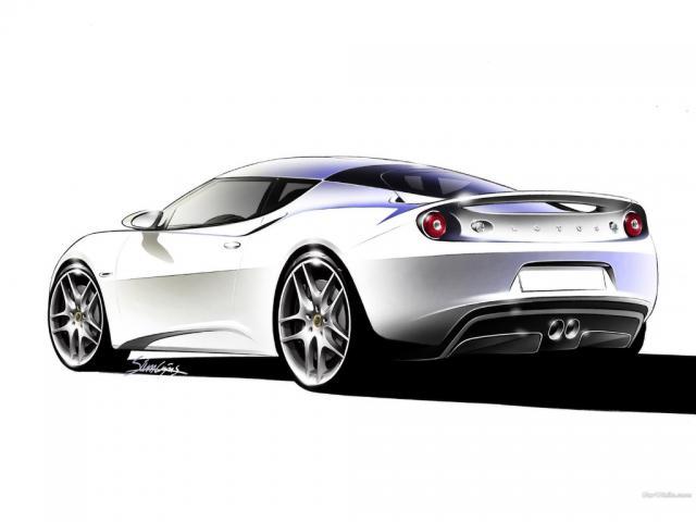 Lotus EVORA GTN-ด้านหลัง