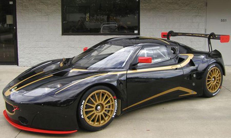Lotus EVORA GTS-สวยงามบนความเเรง