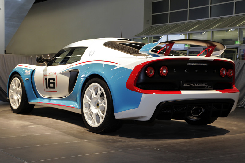 Lotus EXIGE R-GT-ดุดัน