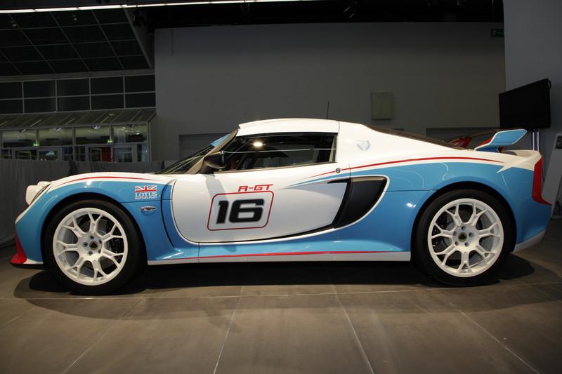 Lotus EXIGE R-GT-ด้านข้าง