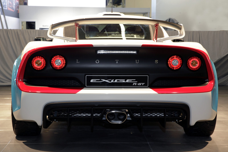 Lotus EXIGE R-GT-ด้านหลัง