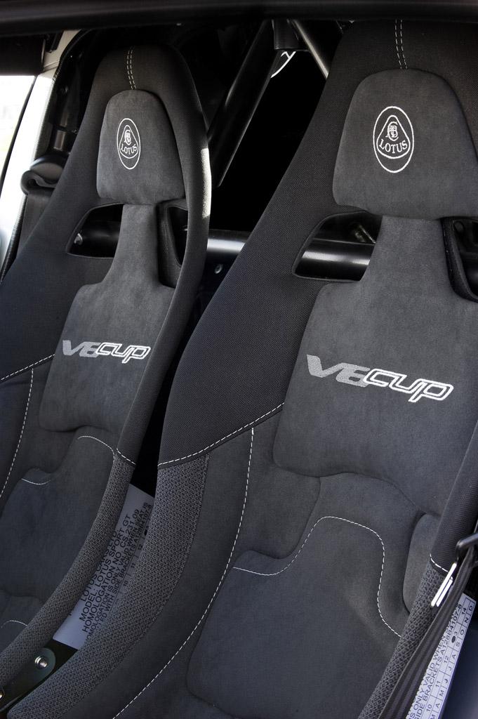 Lotus EXIGE V6 CUP-เบาะนั่ง