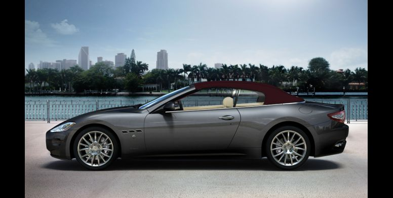 Maserati GranCabrio-ด้านข้าง