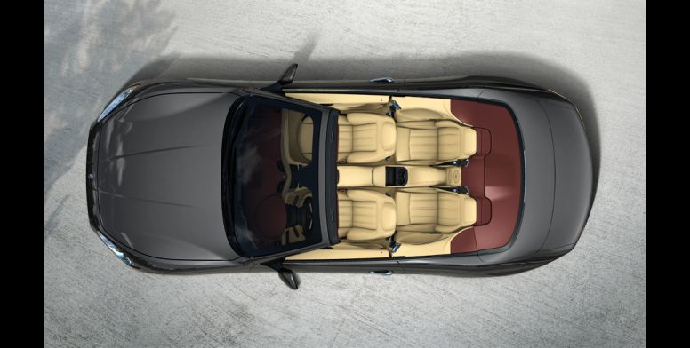 Maserati GranCabrio-ด้านบน
