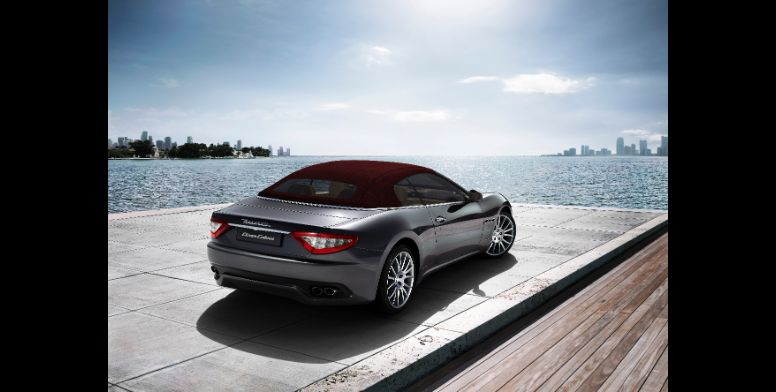 Maserati GranCabrio-ด้านหลัง