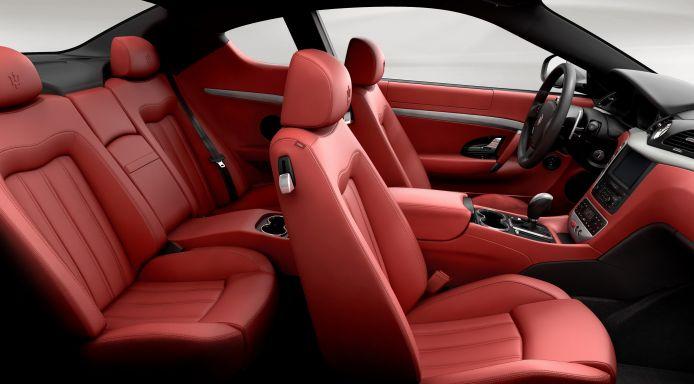 Maserati GranTurismo-ห้องโดยสารภายใน