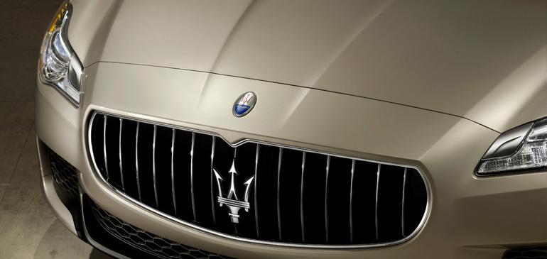 Maserati New Quattroporte V8-กระจังหน้า