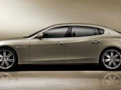 Maserati New Quattroporte V8-ด้านข้าง