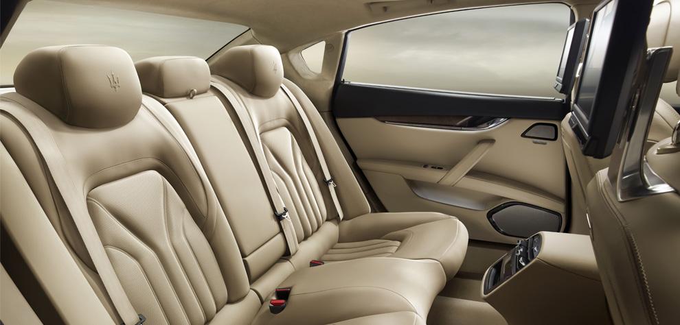 Maserati New Quattroporte V8-ภายใน