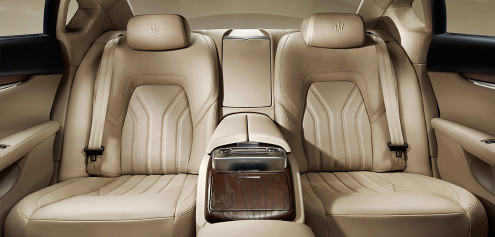 Maserati New Quattroporte V8-เบาะนั่ง