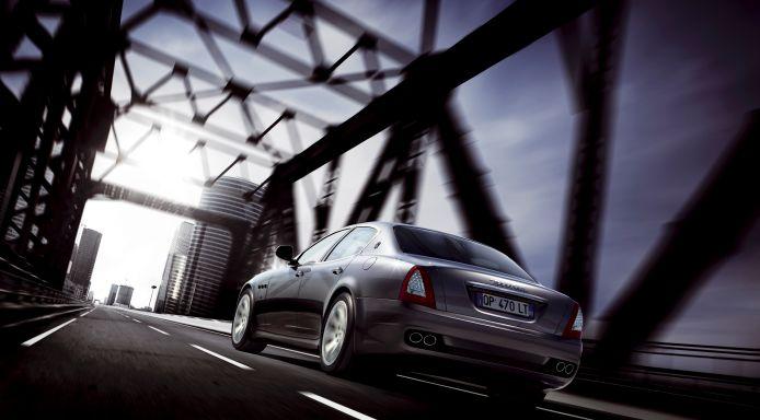 Maserati Quattroporte-งดงาม