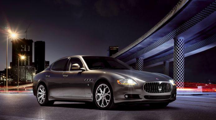 Maserati Quattroporte-บูม