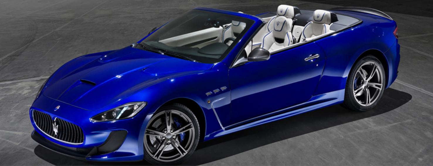 Maserati_GranCabrio_MC_Centennial_Edition-ด้านหน้า