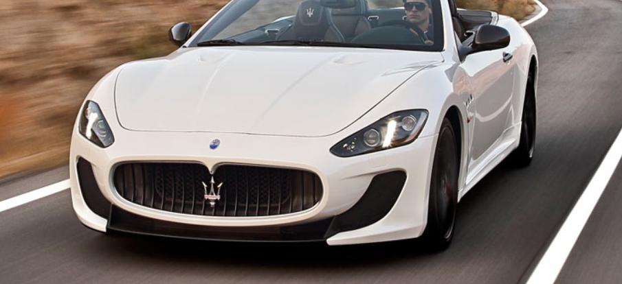 Maserati_Gran_Cabrio_MC-ด้านหน้า