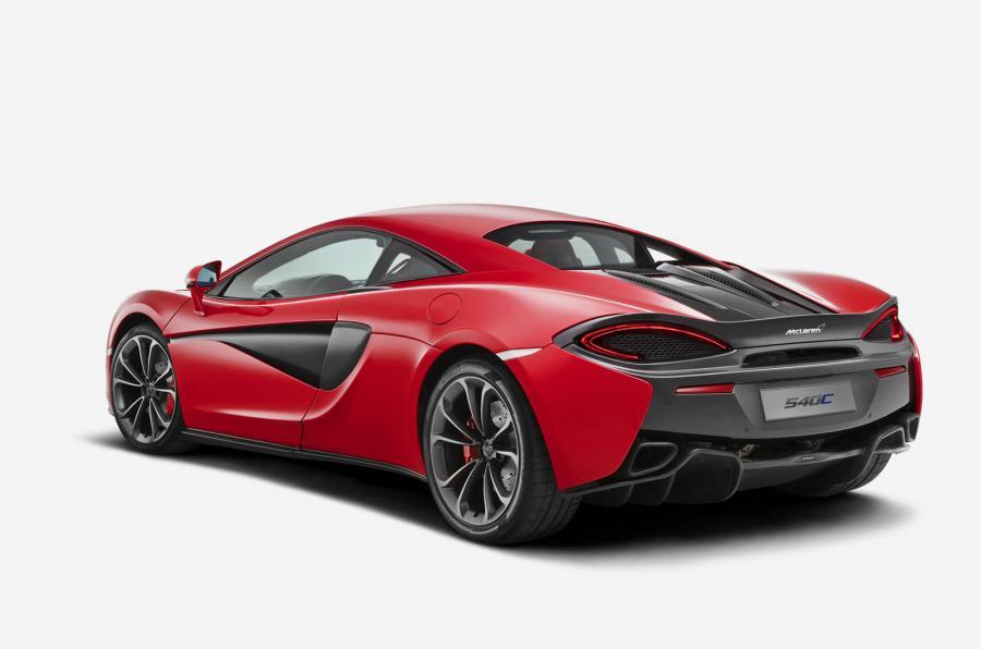 McLaren 540C-ด้านหลัง