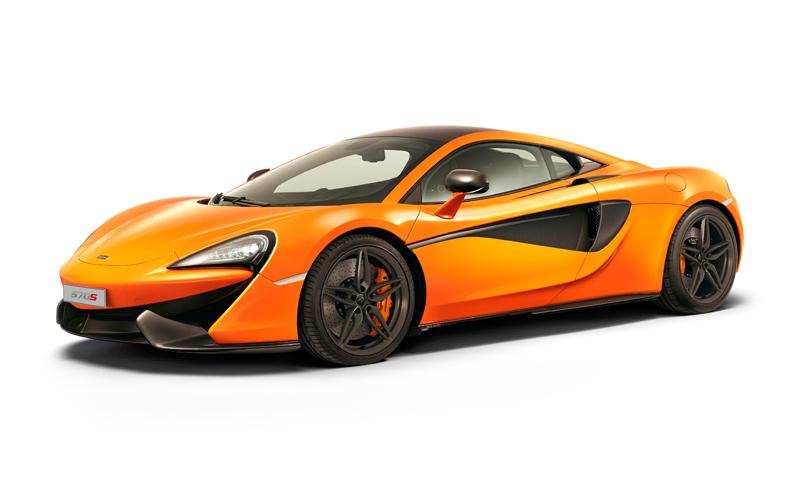 McLaren 570S-ด้านหน้า