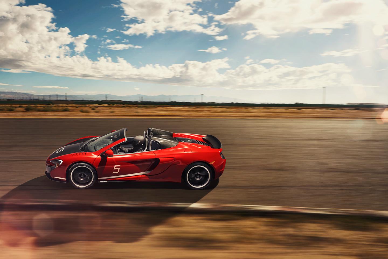 McLaren 650S SPIDER-ความเร็ว