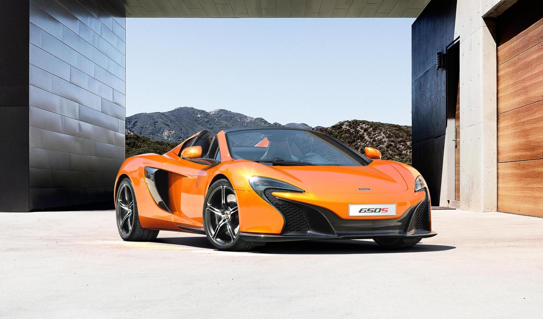 McLaren 650S SPIDER-ด้านหน้า