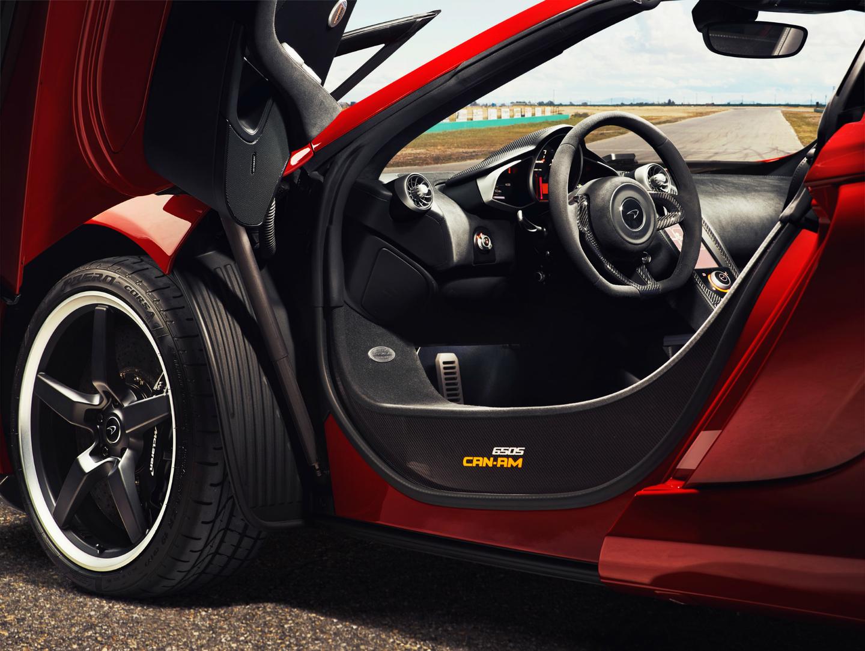 McLaren 650S SPIDER-พวงมาลัย