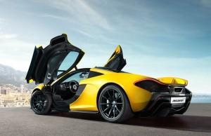 McLaren P1 -ประตู